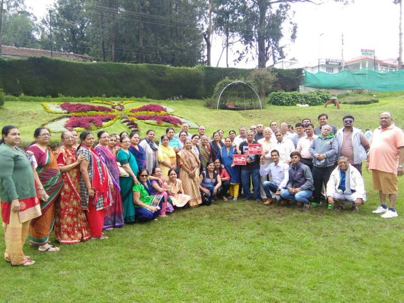 Nageri Group at Coorg, Ooty, Kodaikanal